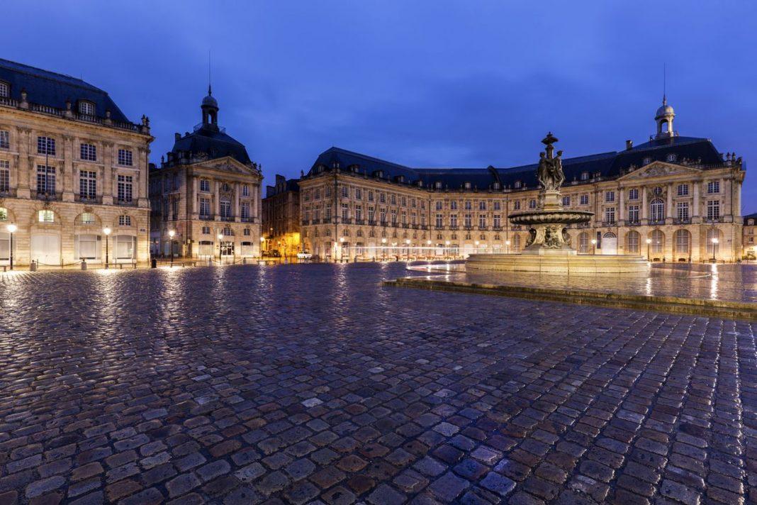 fontaine des 3 grâces à Bordeaux